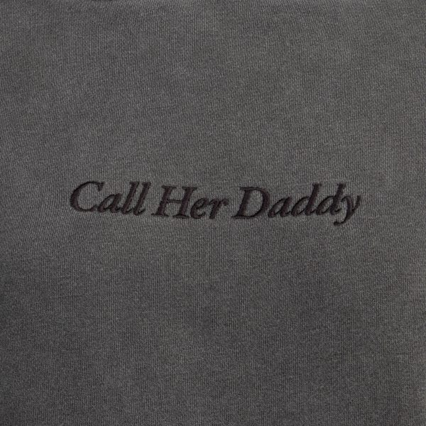 CHDHoodie ChestDetail - Call Her Daddy Merch