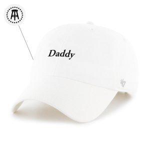 Daddy 47Hat White 2 - Call Her Daddy Merch