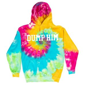 DumpHim TieDyeHoodie 7 - Call Her Daddy Merch