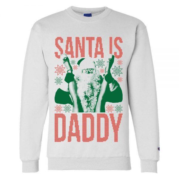 SantaIsDaddy Xmas White2 1 - Call Her Daddy Merch