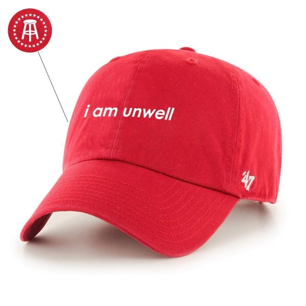 Unwell 47Hat Red 1 - Call Her Daddy Merch