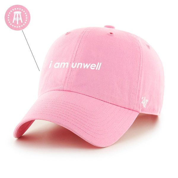 Unwell 47Hat Rose 1 - Call Her Daddy Merch