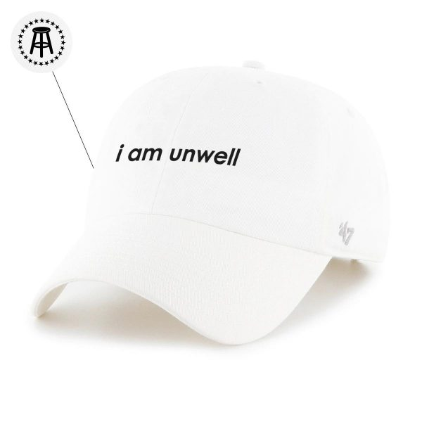 Unwell 47Hat White 1 - Call Her Daddy Merch