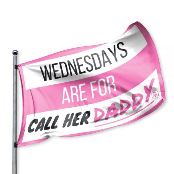 WAFCHD Flag4 - Call Her Daddy Merch